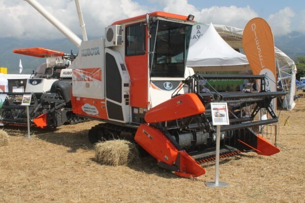 Cosechadoras de arroz Diesel Kubota