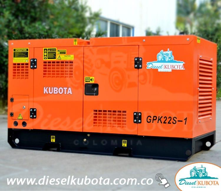 Planta Eléctrica KUBOTA GPK-22