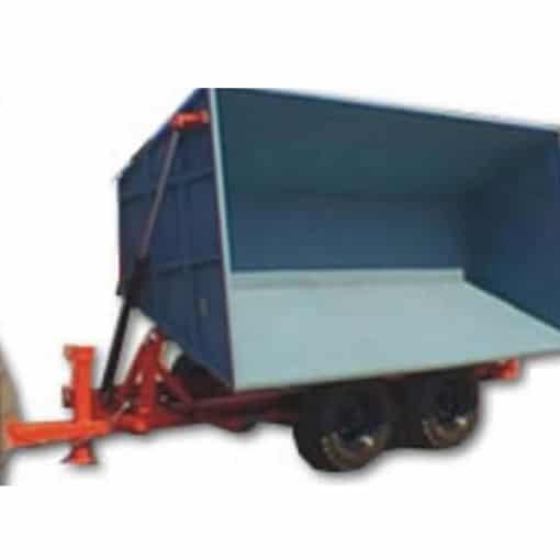 Remolque volco lateral  Diesel Kubota v– serie rvlt 3/6