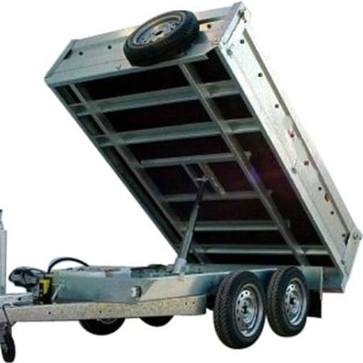 Remolque volco trasero Diesel Kubota – series rvtt 3/6