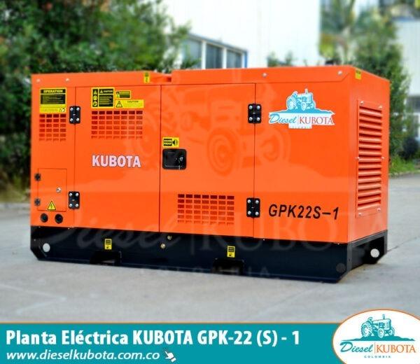 planta eléctrica kubota-gpk-22-1